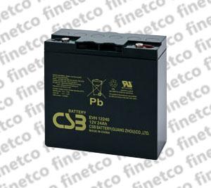 باتری یو پی اس csb EVH12240