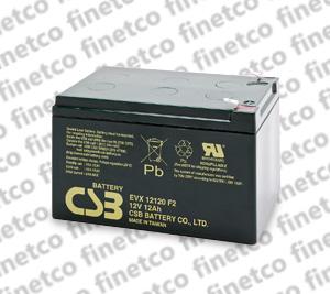 باتری یو پی اس csb EVX12120