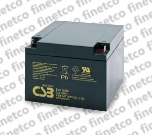 باتری یو پی اس csb EVX12260