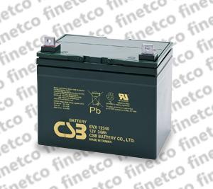 باتری یو پی اس csb EVX12340