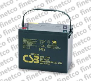 باتری یو پی اس csb EVX12750