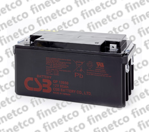 باتری یو پی اس csb GP12650