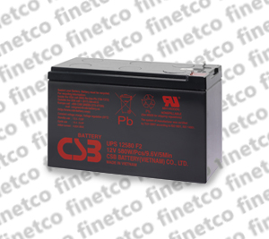 باتری یو پی اس csb UPS12580