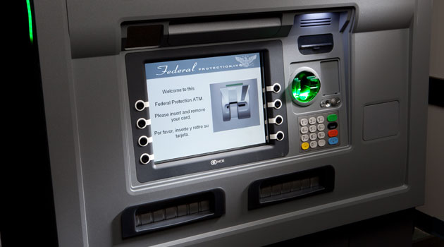 یو پی اس خودپرداز یا دستگاه ATM